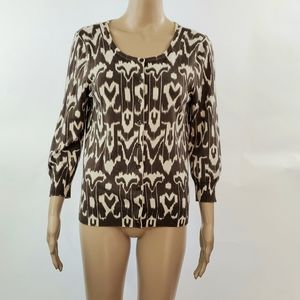 Talbots Womans button down Cardigan size small